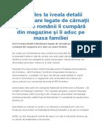 APC- Ies La Iveala Detalii Înfiorătoare Legate de Cârnații Pe Care Românii Îi Cumpără Din Magazine Și Îi Aduc Pe Masa Familiei