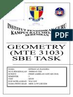 Geo Sbe Task