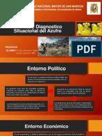Analisis y Diagnostico Situacional Del Azufre