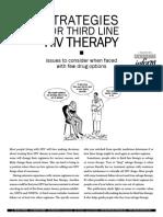 HIV thirdline therapy