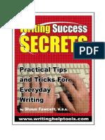 Writing Secret