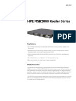 HP MSR2000 Router Series J 2