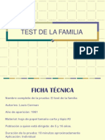 Test de Familia de Corman