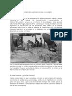 Antecedentes Historicos Del Concreto