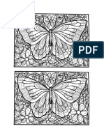Big Butterfly Coloring Page