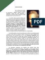 Kant Deontologismo