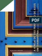 livro - A Igreja de Sao Francisco de Assis de Diamantina
