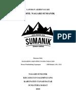 Cover Profil Nagari Sumanik