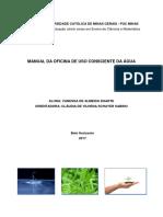 Manual Da Oficina de Uso Consciente Da Água