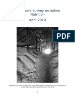 2009 Cambodia Survey on Iodine Nutrition