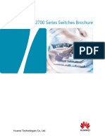 Huawei S2700 Series Switches Product Brochure
