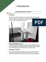informe y métodos de construcción