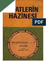 Muhyiddin Ibn Arabi Saatlerin Hazinesi Text