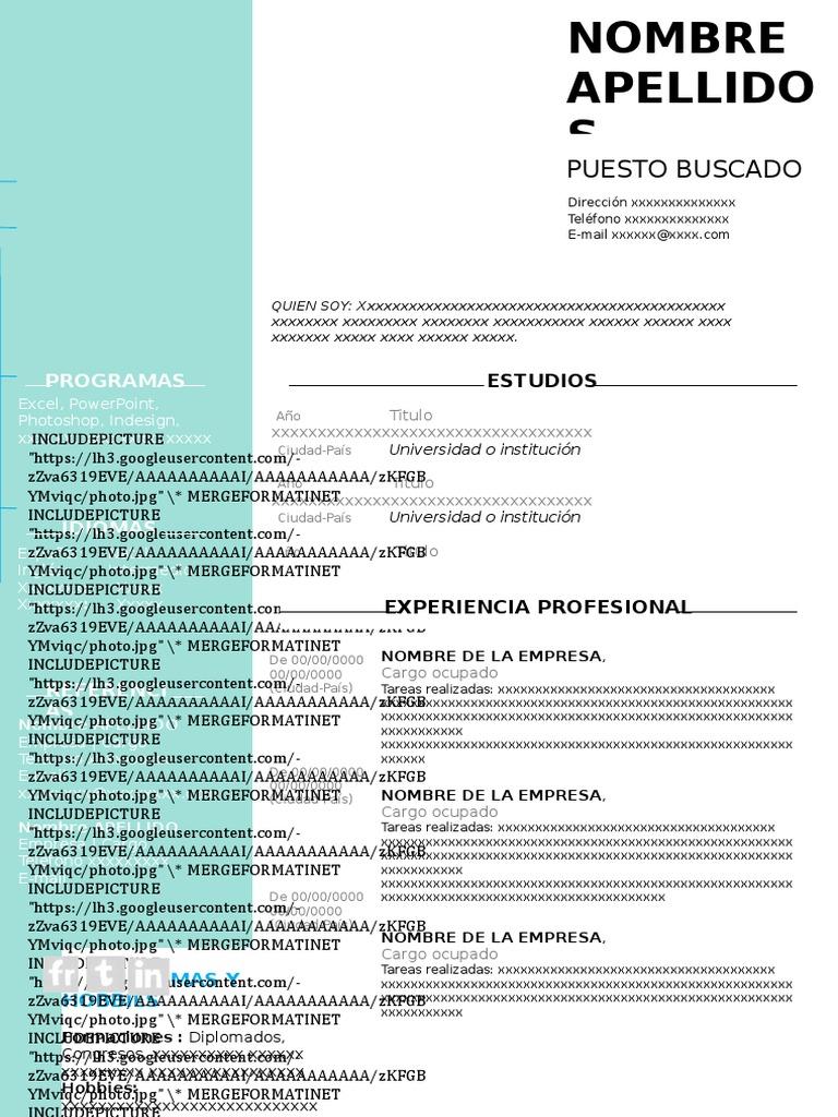 Curriculum Vitae Doc