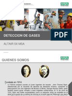 Deteccion de Gases Altair 5x