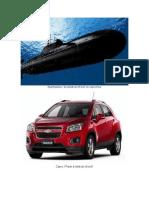 Submarino,Carro,Canoa