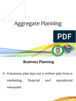003- Aggregate Planning