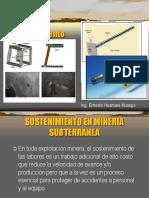 Sostenimiento en Mina Subterranea Con Pernos 01