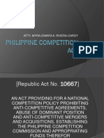 Philippine Competition Act