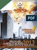 Manual de Capacitacion para Dirigentes de Iglesia 2013.pdf