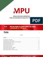 eBook MPU Ponto Dos Concursos PTC