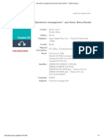 Operations Management _Jay Heizer, Barry Render. – National Library