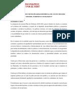 Plan de Gobierno Unión Por El Perú Ancón