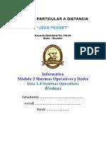 Modulo INF-2 Guia 1.4 Sistemas Operativos Windows (1ro)