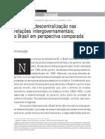 TULIA FALLETI - Efeitos da descentralização nas relacaoes intergovernamentais