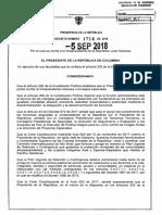 Funciones de la vicepresidenta Marta Lucía Ramírez