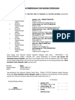 Berita Acara Pemeriksaan Fisik Barang Persediaan Tahun 2015 Kecamatan Cileles
