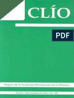 Revista Clío, No. 184, julio-diciembre 2012