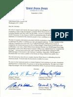 Senators Join Judiciary Committee Democrats to Demand Kavanaugh's Full White House Record
