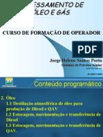 PROCESSAMENTO DE PETRÓLEO E GÁSSlides operação 2a aula