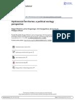 Hydrosocial territories, a political ecological conflict - Varios.pdf
