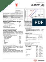 Loctite 495_datos Tecnicos