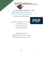 Acuerdo Institucional Académico