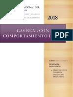 Gas Real Con Comportamiento Ideal (1)