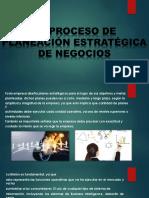El Proceso de Planeación Estratégica de Negocios