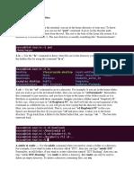 Linux Basics Notes