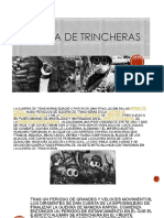 Guerra de Trincheras