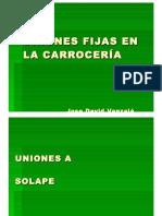 Tipos de Uniones Fijas en La Carrocería