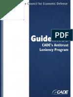 Guidelines Cades Antitrust Leniency Program Final