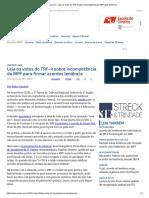 ConJur - Leia Os Votos Do TRF-4 Sobre Incompetência Do MPF Para Leniência