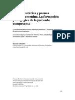 Cirugía estética y prensa gráfica femenina. La formación pedagógica de la paciente competente