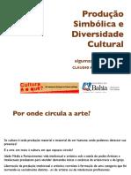 Apr. Produção Simbolica e Diversidade Cultural