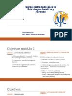 0.1.1 Introducción Psicologia jurídica y Forense 2018