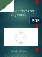 Forças Atuantes Na Legislação