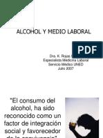 Alcohol Laboral - riesgos laborales
