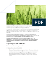 Key Changes in ISO 22000 2018